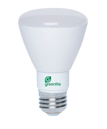 Greenlite 7 watt BR20 LED Dimmable Light Bulb