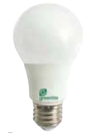 Greenlite 9W LED Bulb A19 Dimmable