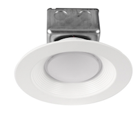 "Nationwide Illumination 6"" 15w LED Round Remodel Recessed Can"