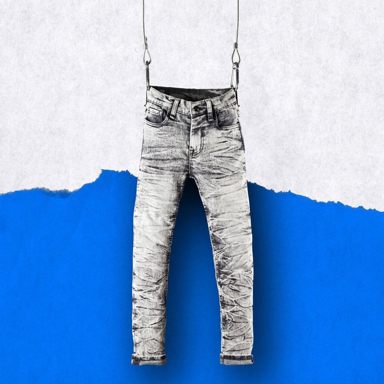 CR7 Junior Type-S Skinny Jean Stone - front view