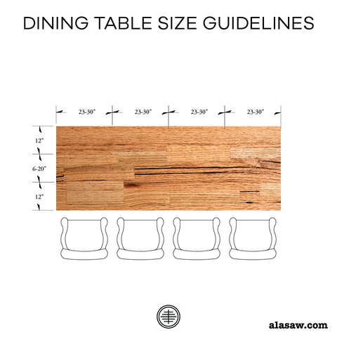 Rectangular Table Seating Chart