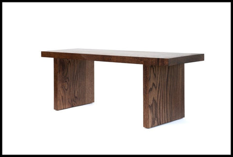 Red Oak Miyake Bench | Alabama Sawyer