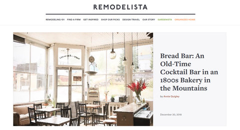 Remodelista Screen Capture