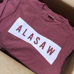 ALASAW Logo Shirt in Red