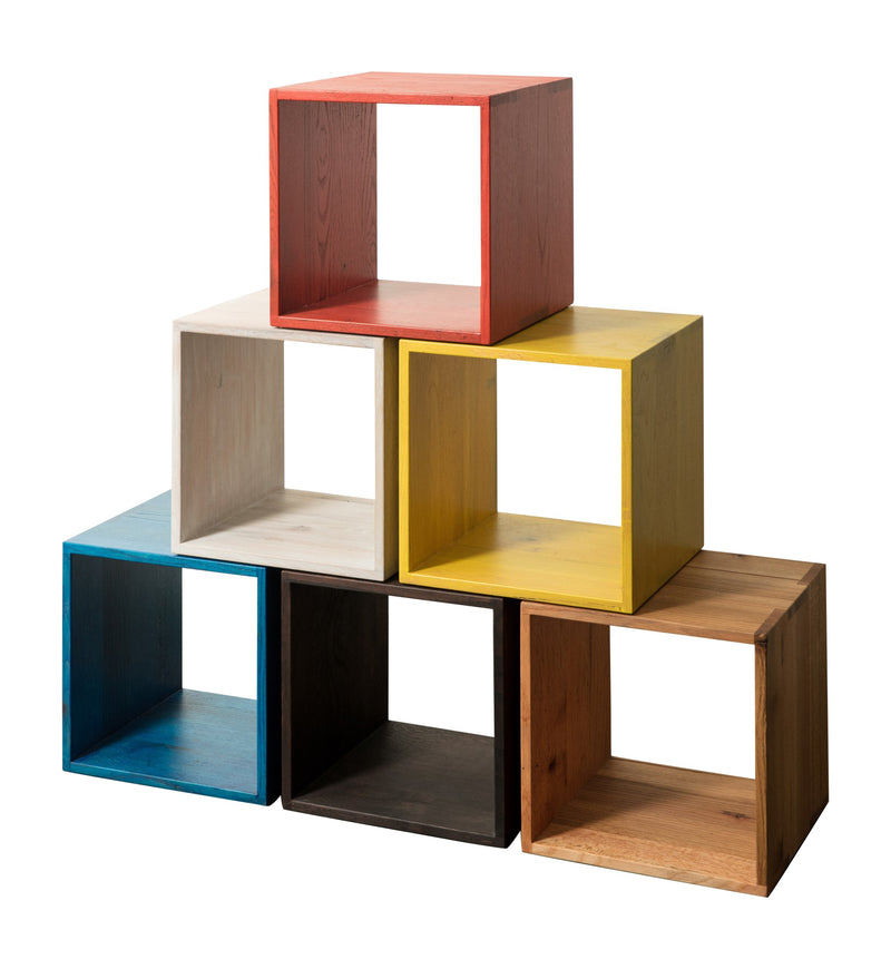 Red Oak Cocktail Cubes in all colors and finishes