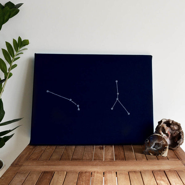 Star sign personalised constellations notice board