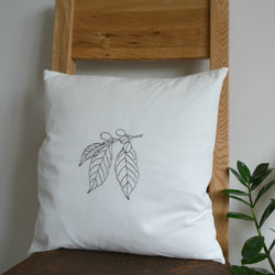Coffea arabica cushion cover