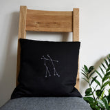 Star constellation cushion cover