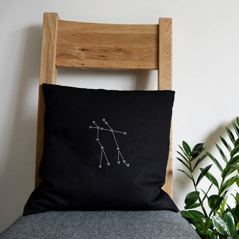 Star sign constellation cushion cover