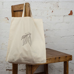Coffee arabica tote bag