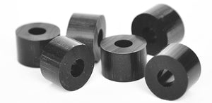 Rubber Washers & Spacers - Premium Black EPDM (Mil-Spec)