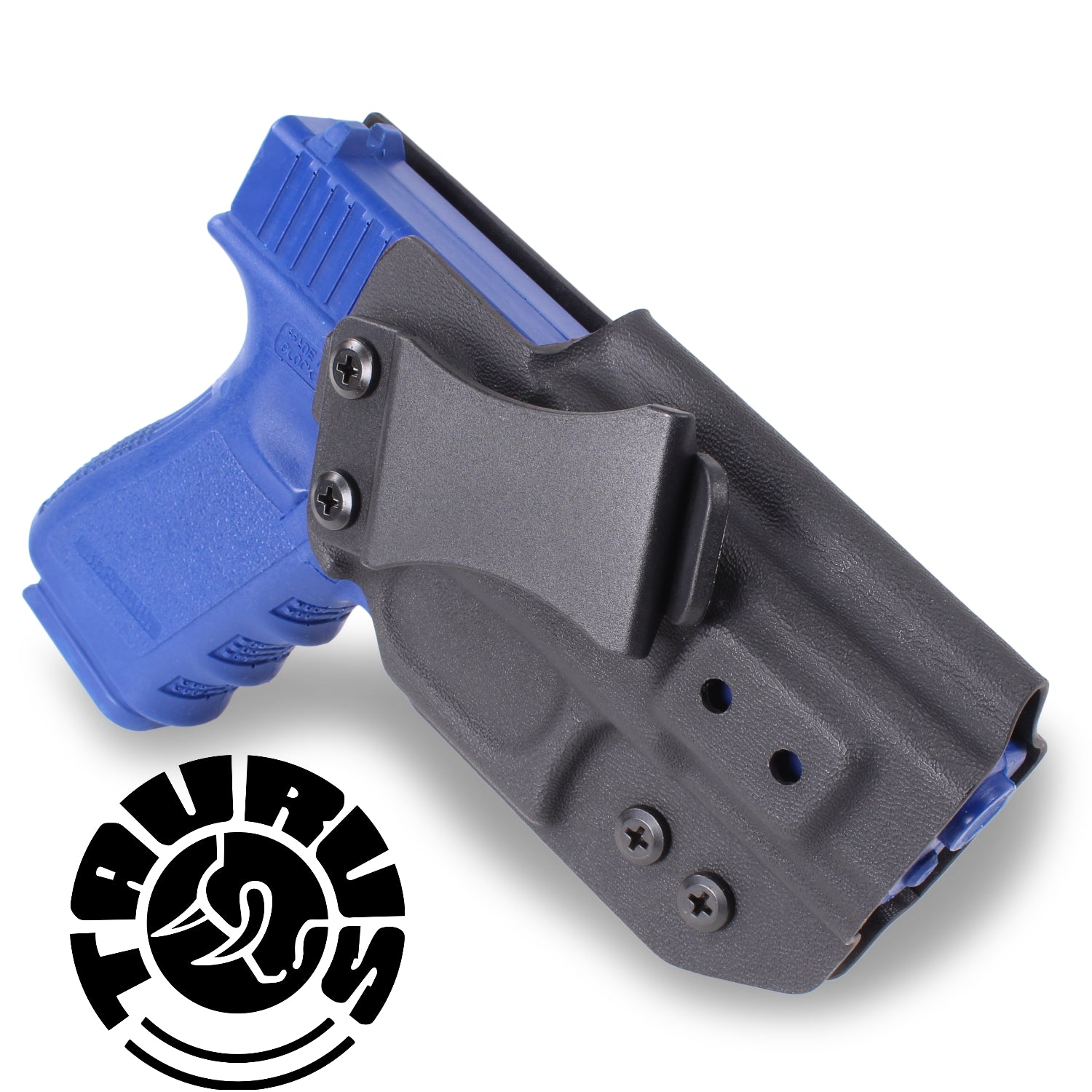 TAURUS - IWB KYDEX Gun Holster - Concealed Carry Tuckable Multiple Adjustable Belt Clips - 100% US Made - Inside Waistband