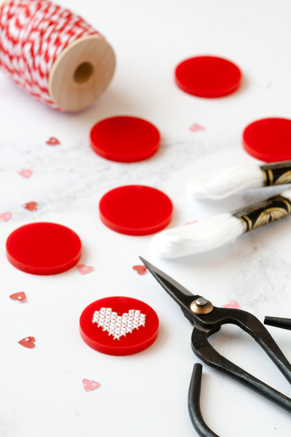 Valentine's stitching for a crowd