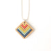 Cross Stitch Necklace Kit - Bamboo Diamond
