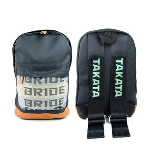 Bride Black Racing Backpack - The JDM Store