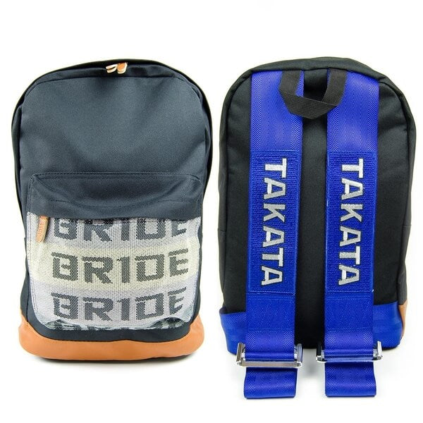 Bride Blue Racing Backpack - The JDM Store