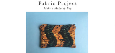 Fabric Projects - Makeup Bag