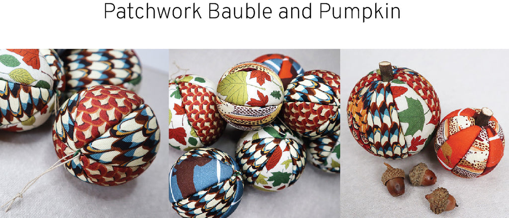 Bauble and Pumpkin Tutorial