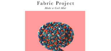 Fabric Projects - Coil Mat