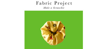Fabric Projects - Scrunchie