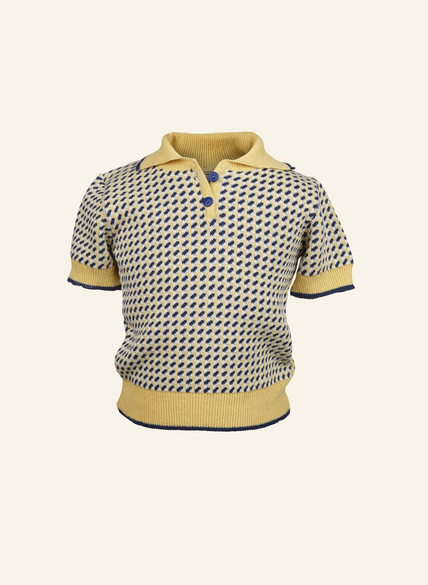 Children's Top - Lemon/Navy Fly Away