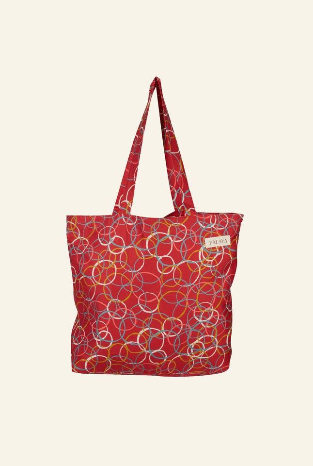 Large Shopper - Raspberry Atomic