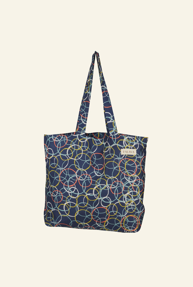 Large Shopper - Blue Atomic