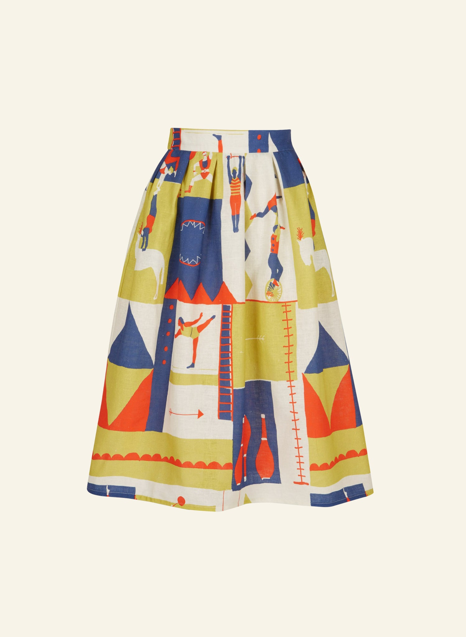 Ada - Circus Sports Skirt | Cotton - Linen Blend