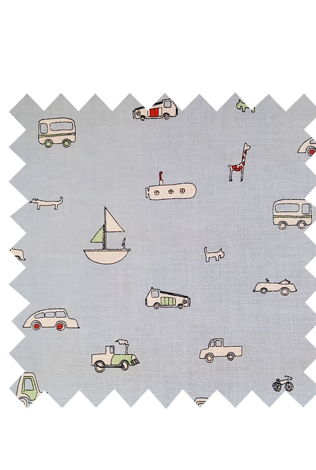 Beep Beep Fabric - Cotton