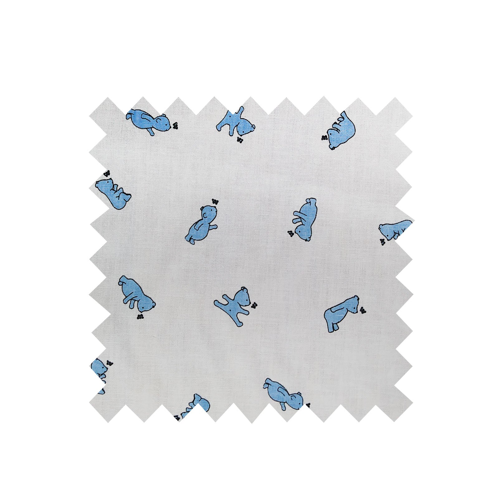 Little Blue Bear Fabric
