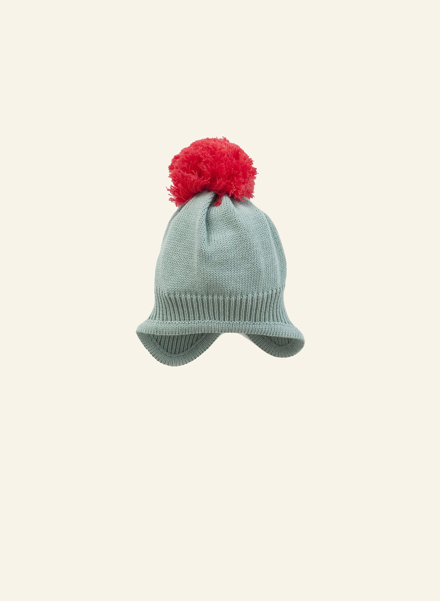 Bobble Hat - Sage