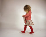 Archive Sale - 5-6yrs - Izzy shirt - Red poppy print