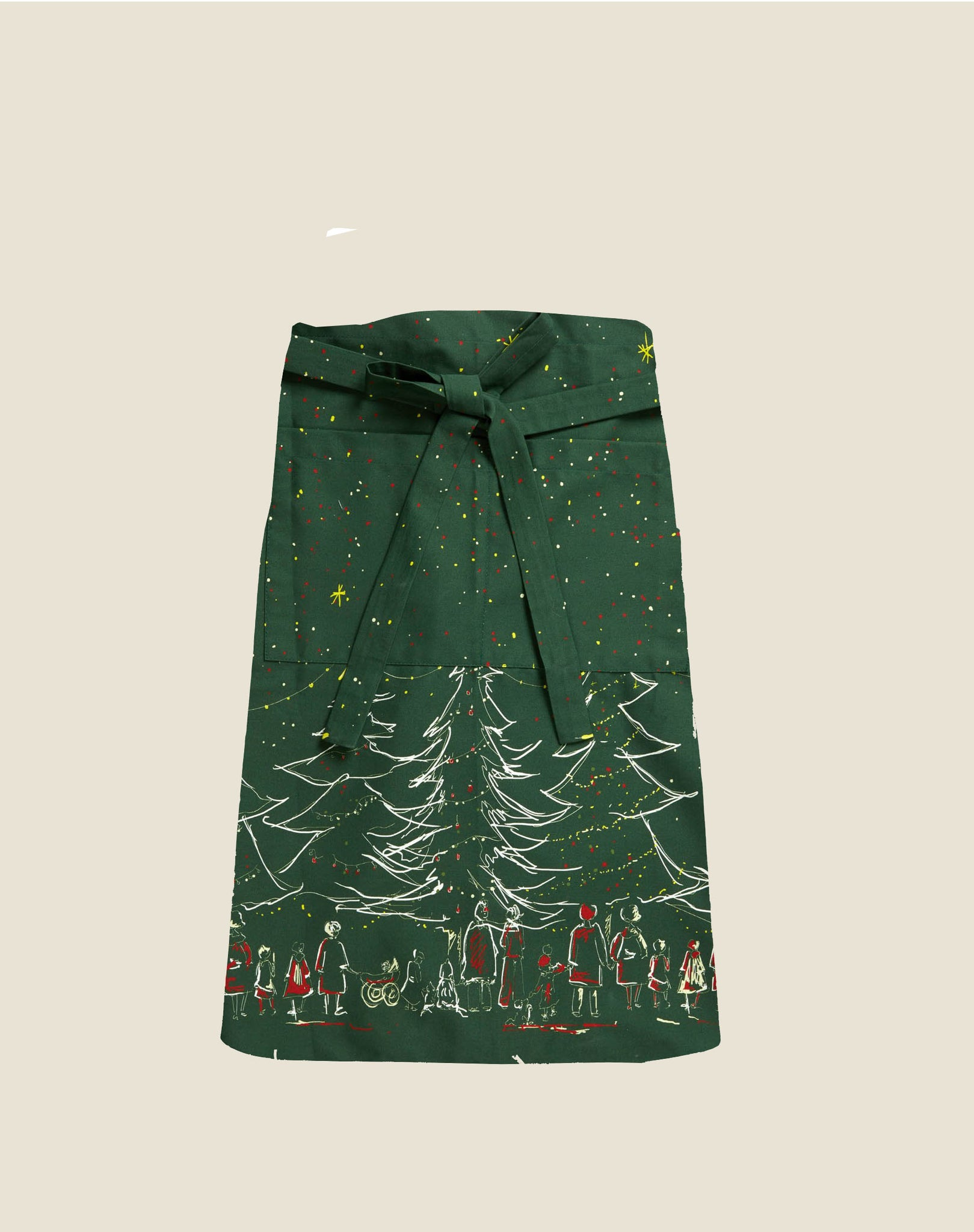 Apron - Green Christmas