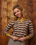 Knitted Top - Marbled Feathers - Palava
