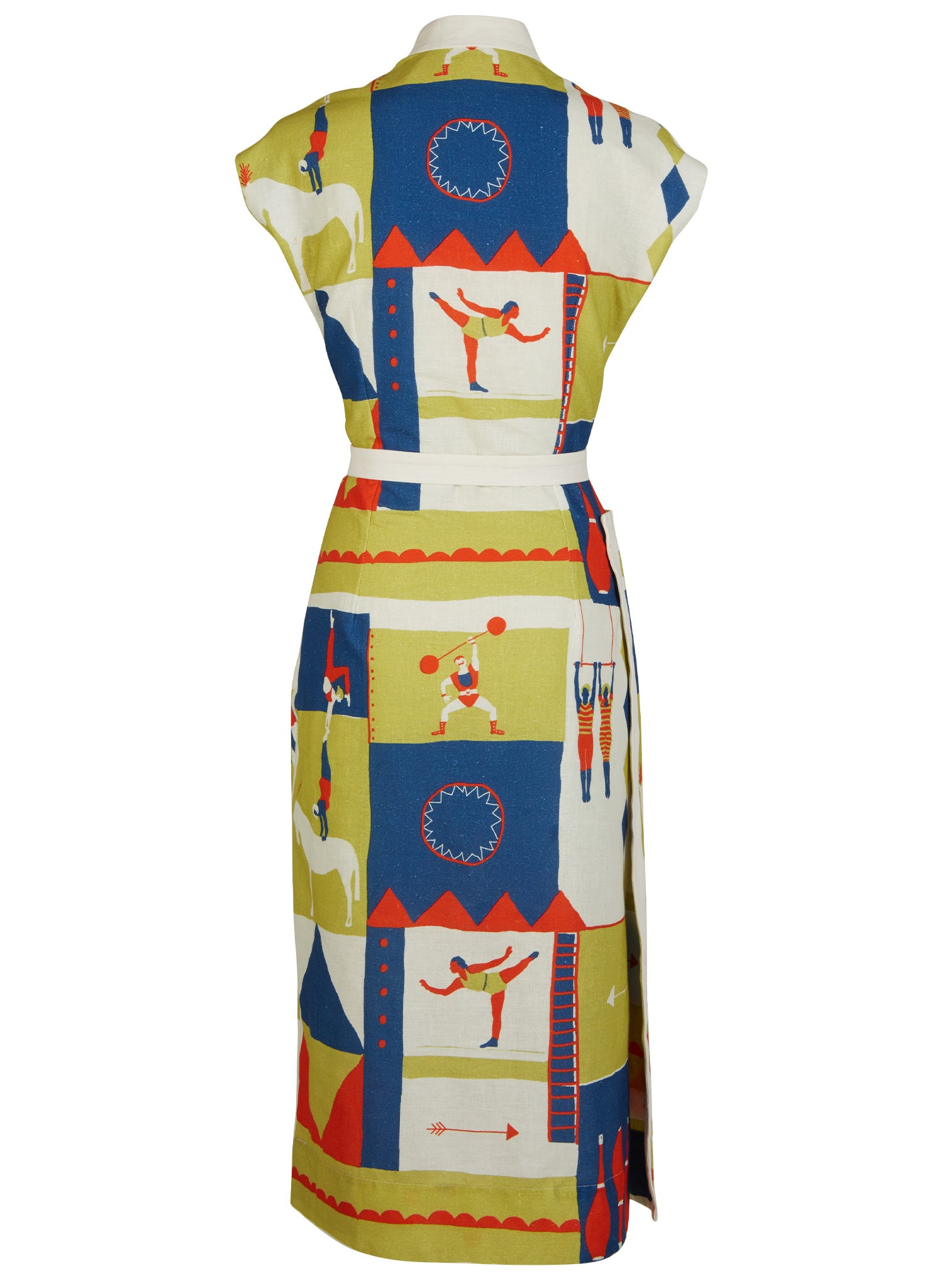 Cyd - Circus Sports Dress | Cotton - Linen Blend