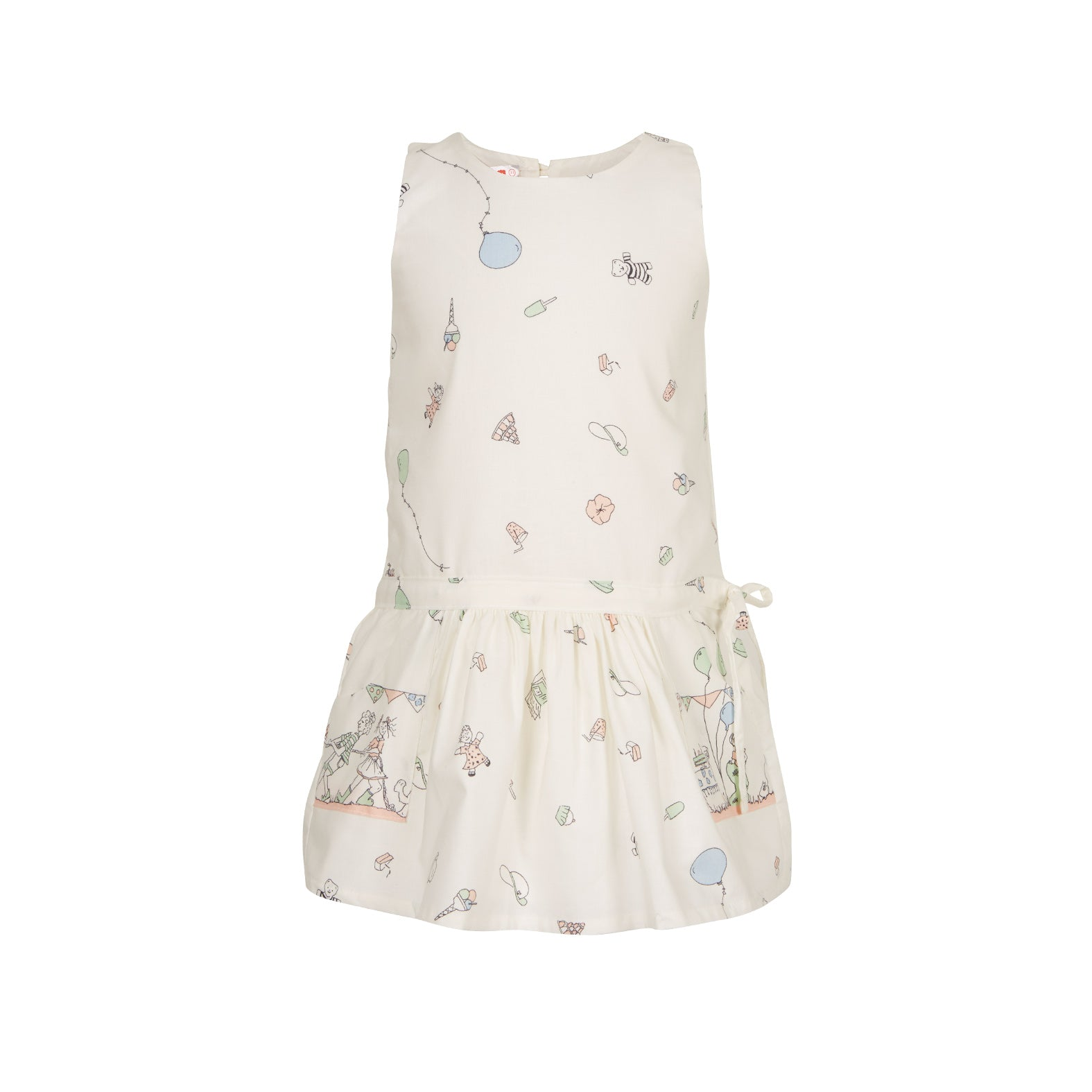 Archive sale - Emily dress - Birthday Bash Cream Pink