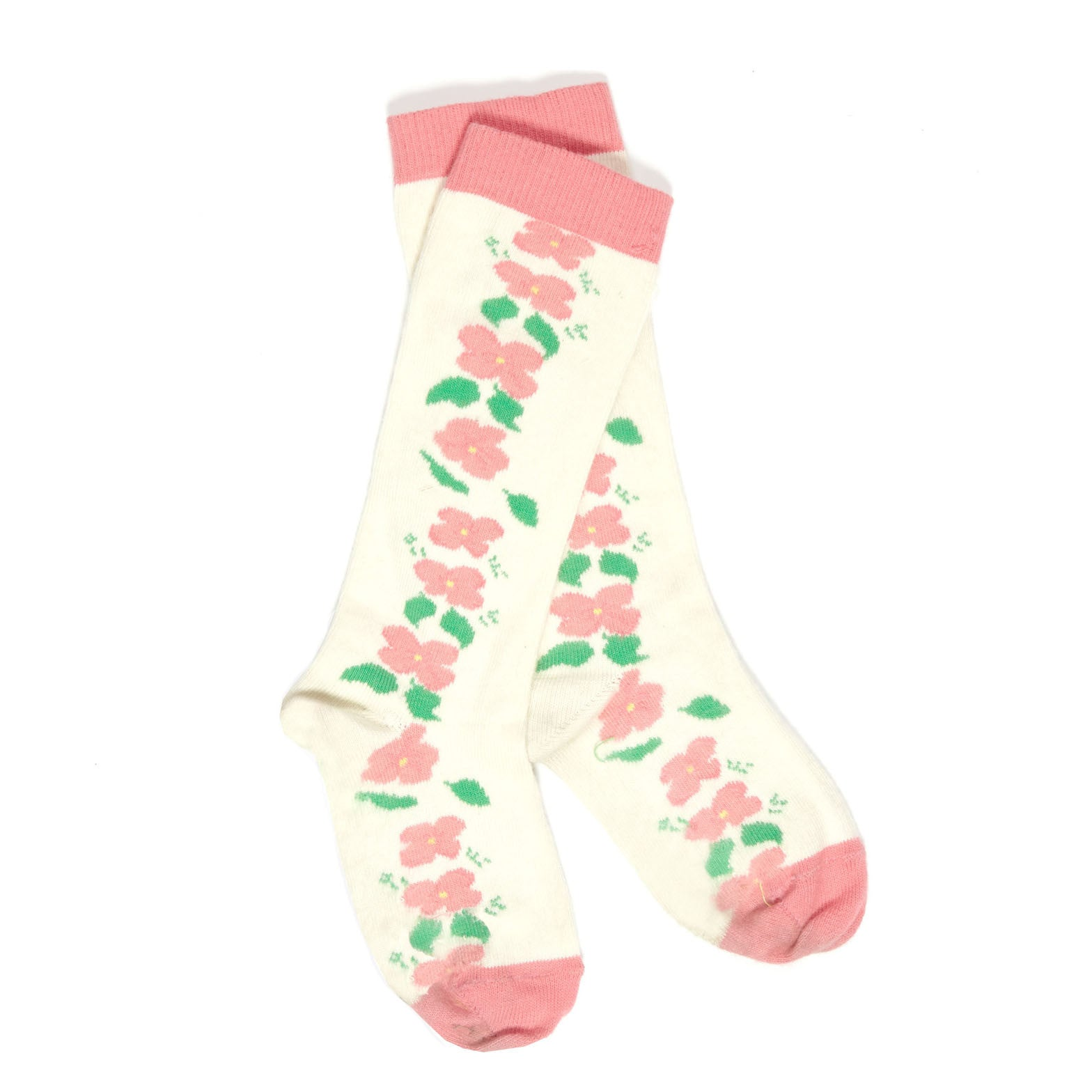 Children's Socks - Cream Floral - Palava