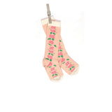 Children's Socks - Peach Floral - Palava