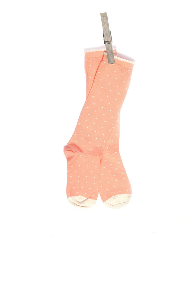 Children's Socks - Pink Polka Dot - Palava