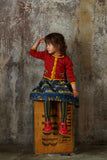 Children's Cardigan - Rust Squirrel - Palava