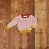 Children's Classic Cardigan - Geometric Knit - Palava