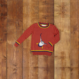Children's Jumper - Rust Puffin - Palava