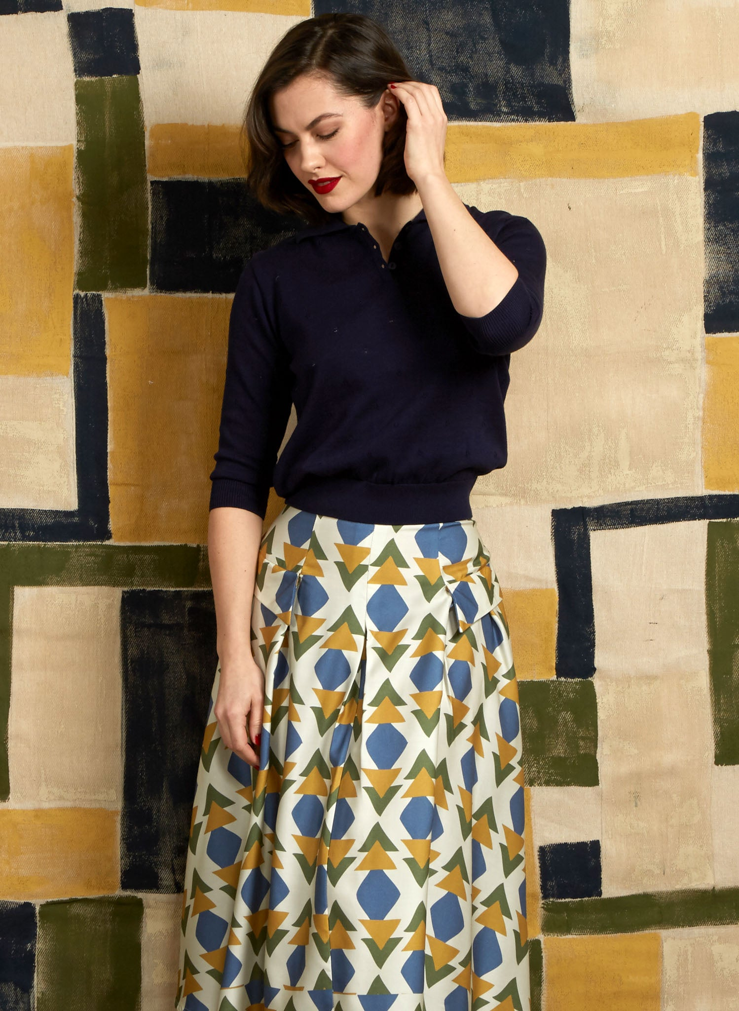 Veronica - Multi Quantum Skirt - 100% Tencel