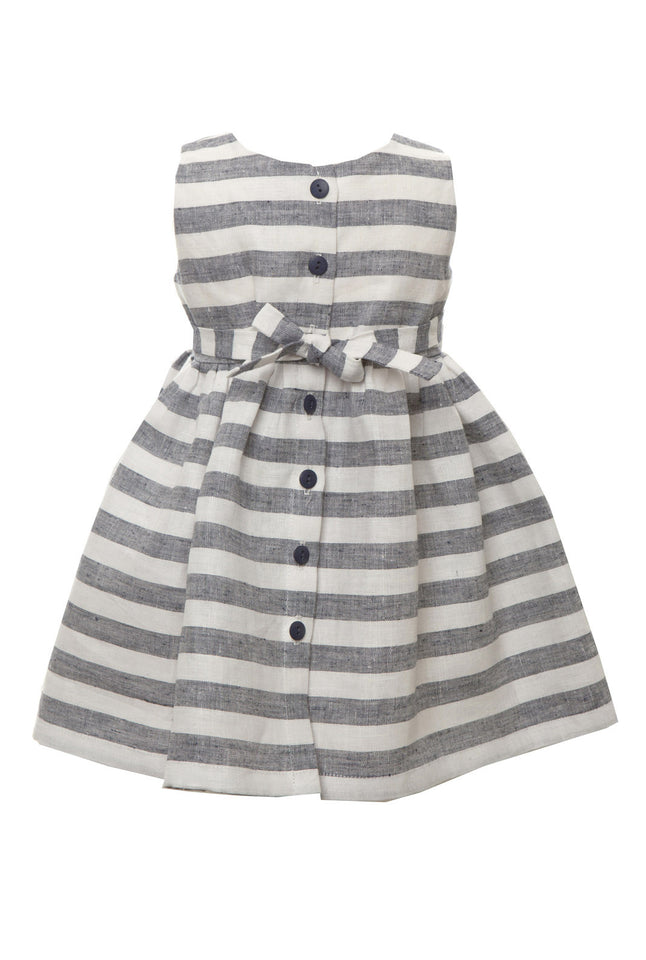 Martha - Navy/White Stripe - Palava