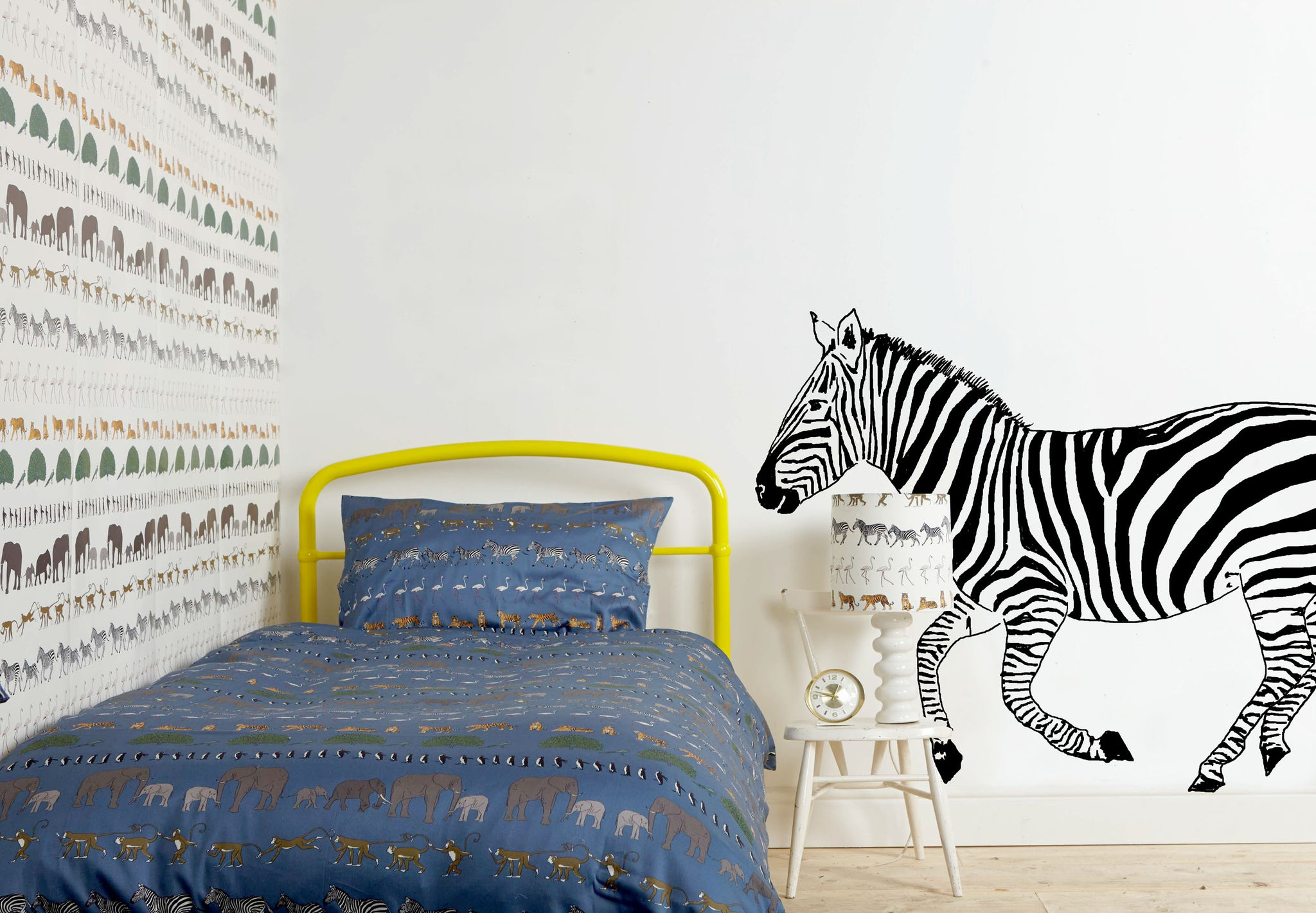 Zebra Wall Sticker - Palava