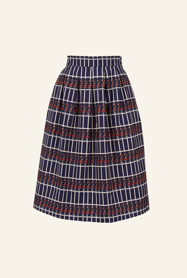 Ada - Navy Bagpipers Skirt | 100% Organic Cotton