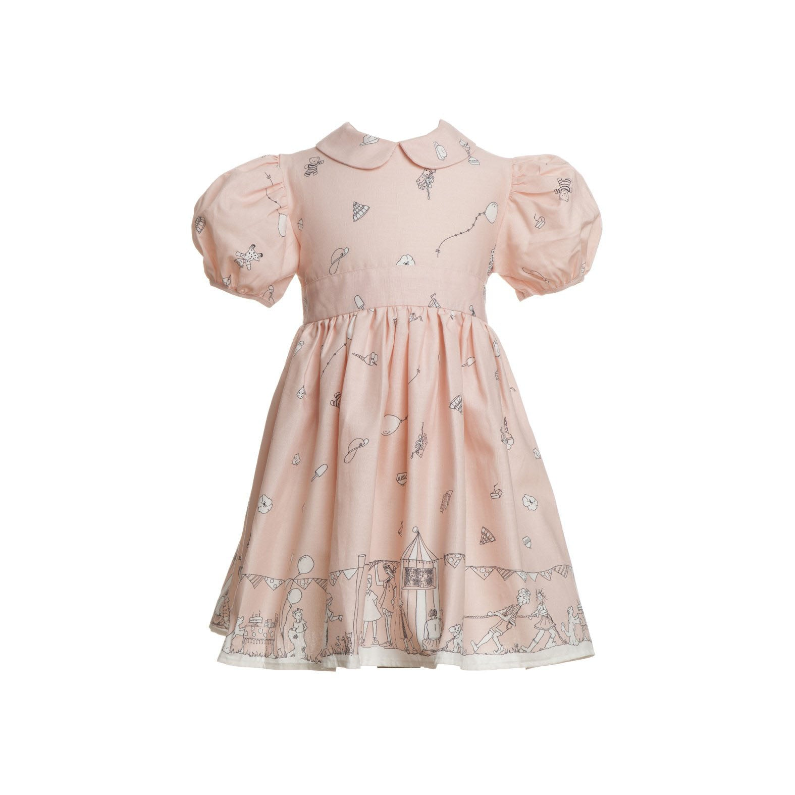 Archive sale - Alice dress - birthday bash pink
