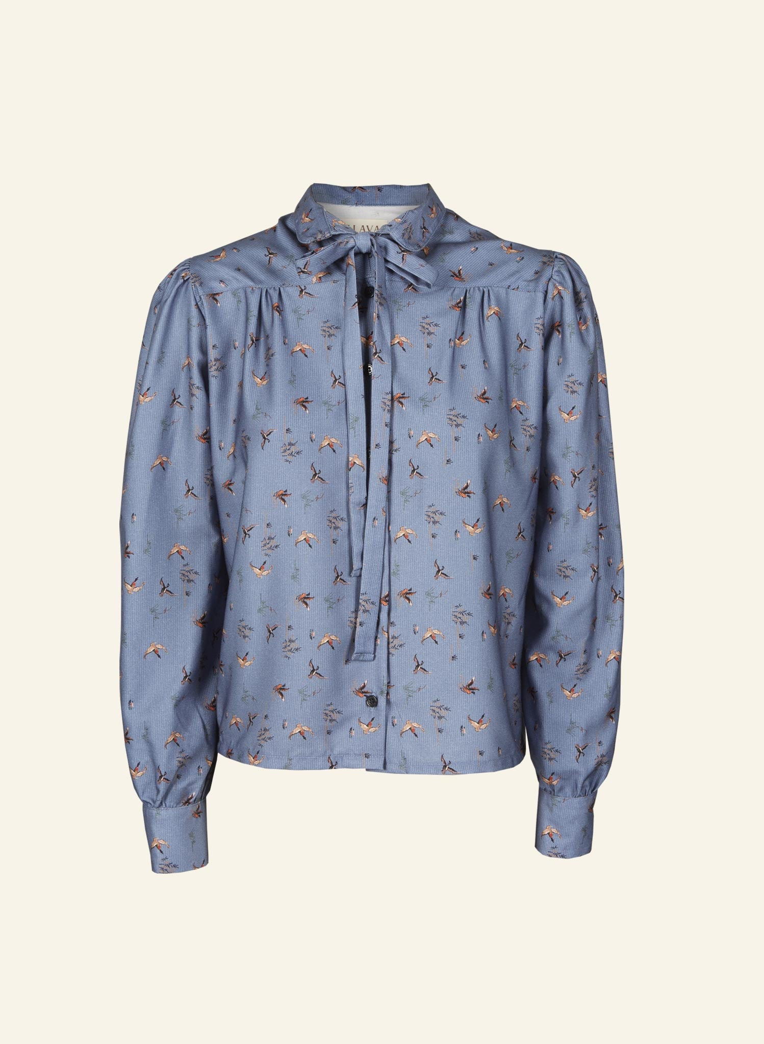 Anna - Blue Ducks - 100% Tencel