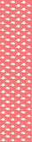 Coral Ducks Jersey Fabric