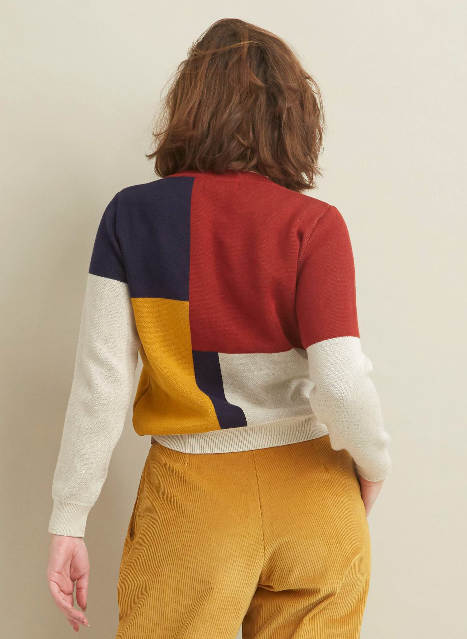 Esther - Bauhaus Jumper | 100% Organic Cotton